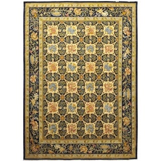 "Eclectic, Hand Knotted Area Rug - 9' 10"" x 13' 2"" - 9'10"" x 13'2"""