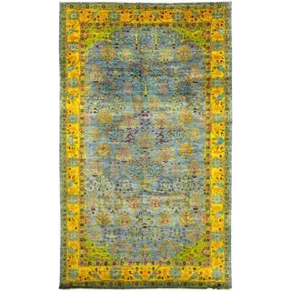 """Eclectic, Hand Knotted Area Rug - 8' 3"""" x 13' 10"""" - 8' 3"""" x 13' 10"""""""