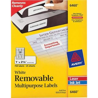 Avery&reg Removable ID Labels