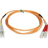 Tripp Lite 3M Duplex Multimode 50/125 Fiber Optic Patch Cable LC/SC 1