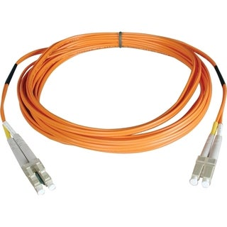 Tripp Lite 3M Duplex Multimode 50/125 Fiber Optic Patch Cable LC/LC 1