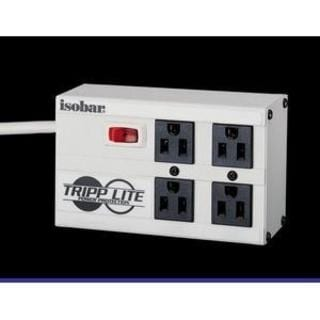 Tripp Lite Isobar Surge Protector Metal 4 Outlet 6' Cord 3330 Joules
