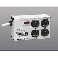 Tripp Lite Isobar Surge Protector Metal 230V 4 Outlet 1.8M Cord 330 J