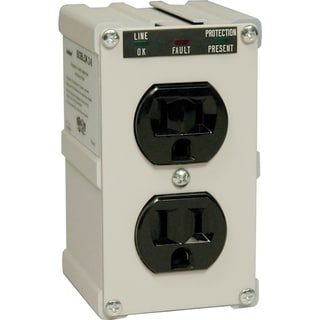 Tripp Lite Isobar Surge Protector Wallmount Direct Plug In 2 Outlet 1