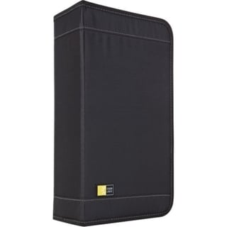 Case Logic CD Wallet - Book Fold - Koskin - Black - 92 CD/DVD