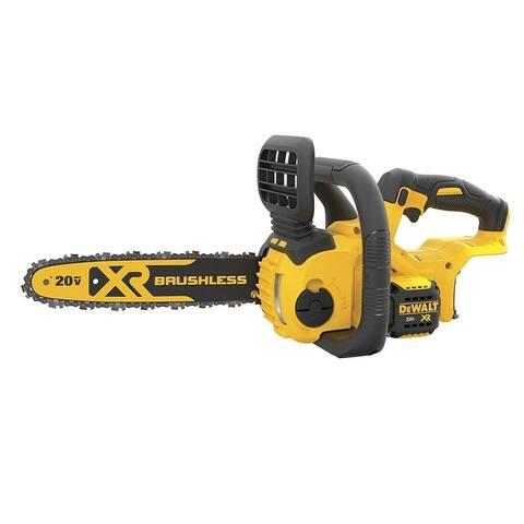 Dewalt DCCS620B 20V MAX XR Compact 12 in. Cordless Chainsaw - Black