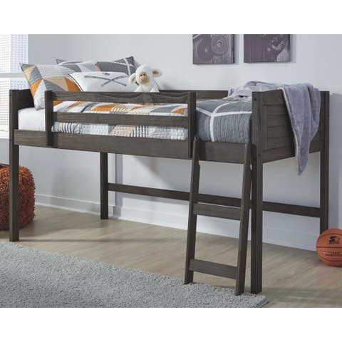 Carbon Loft Chidi Twin Loft Grey Bed Frame