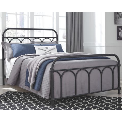 Nashburg Full Metal Bed - Multi