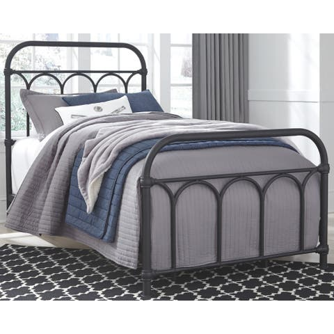 Nashburg Twin Metal Bed - Multi