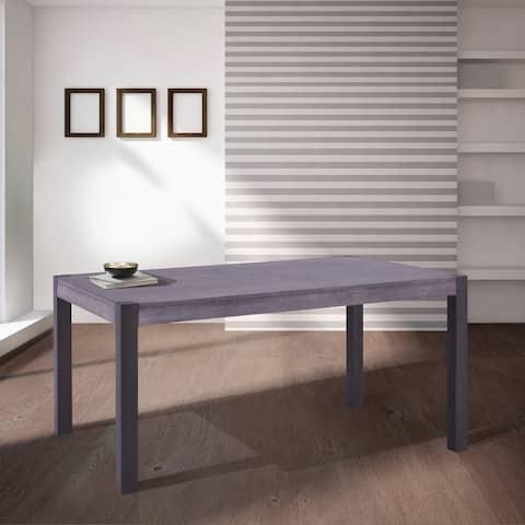 Tatum Mid-Century Modern Rectangular Dining Table
