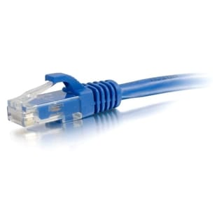 25ft Cat5e Snagless Unshielded (UTP) Network Patch Cable - Blue