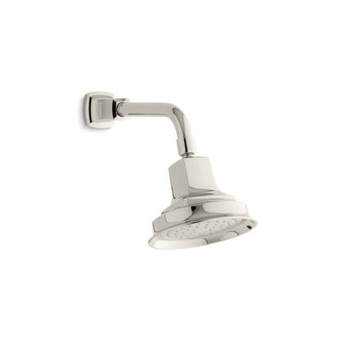 Kohler Margaux 2.5 Gpm Single-Function Showerhead with Katalyst Air-Induction Technology Vibrant Polished Nickel