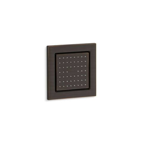 Kohler Watertile Square 54-Nozzle Body Spray with Soothing Spray Oil-Rubbed Bronze