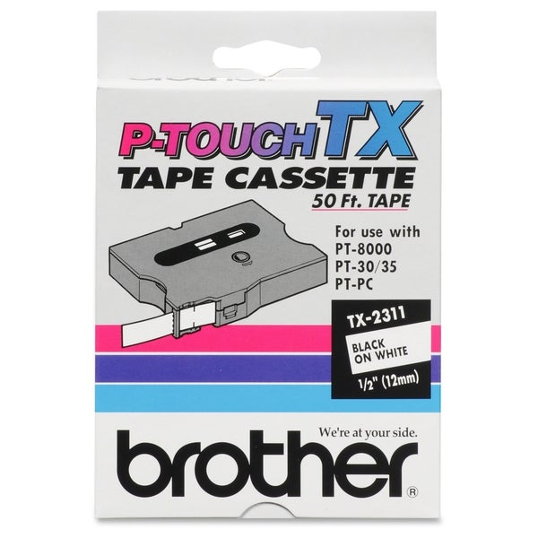 Brother TX Series Laminated Tape Cartridge