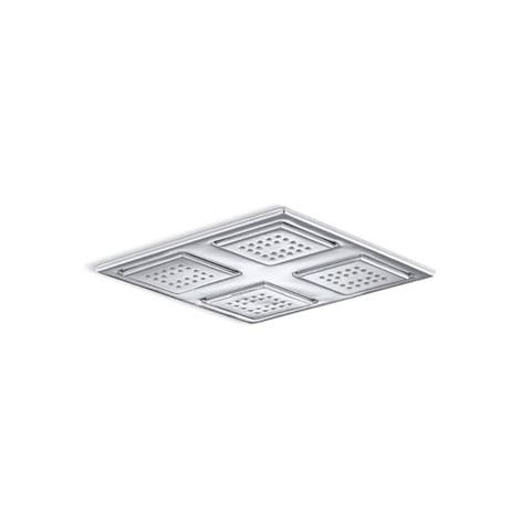 Kohler Watertile Overhead Shower Panel with Four 22-Nozzle Sprayheads Polished Chrome