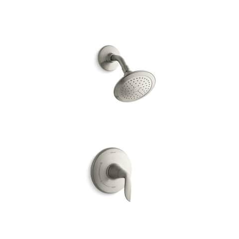 Kohler Refinia Rite-Temp Shower Trim Set Valve Not Included Vibrant Brushed Nickel