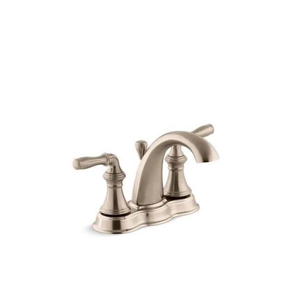 Shop Kohler Devonshire Centerset Bathroom Sink Faucet With Lever