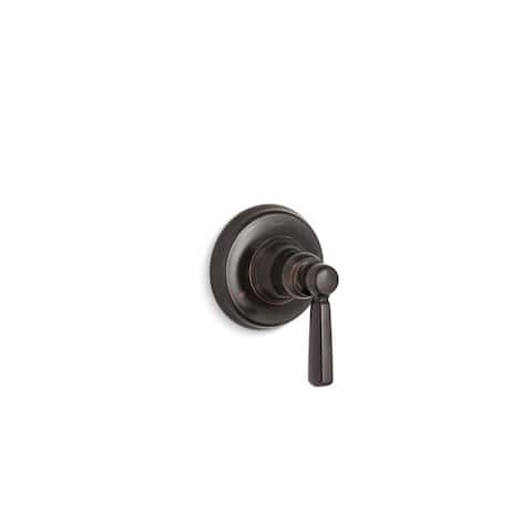 Kohler Bancroft Valve Trim with Metal Lever Handle for Transfer Valve Requires Valve Oil-Rubbed Bronze
