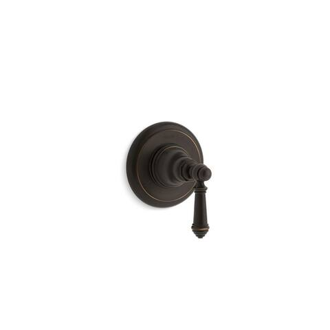 Kohler Artifacts Transfer Valve Trim with Lever Handle Oil-Rubbed Bronze