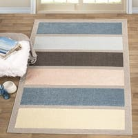 Superior Designer Gypsy Stripe Area Rug