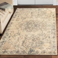 Superior Amaris Distressed Medallion Area Rug