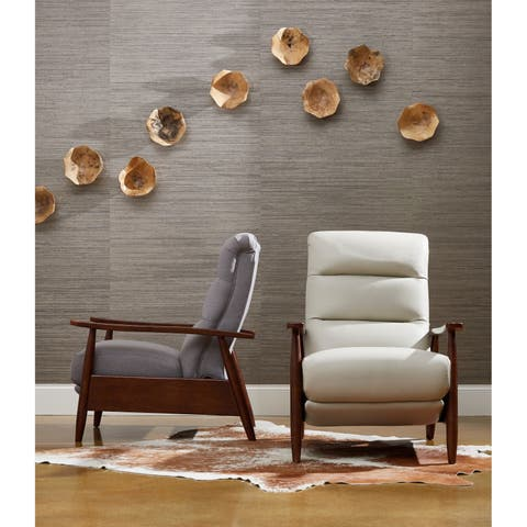 Aaron Modern Push-back Reclining Chair by Avenue 405