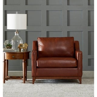 Ansley Wood Base Accent Chair by Avenue 405