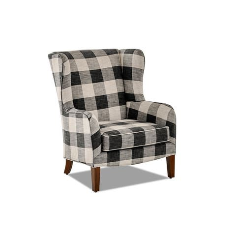 Colleen Wing Back Accent Chair by Avenue 405