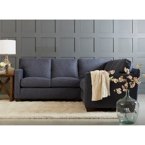 Carter Down Blend L Shape Sectional by Avenue 405
