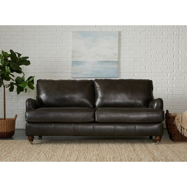Tremendous Shop Charlotte Leather Sofa By Avenue 405 On Sale Ships Pabps2019 Chair Design Images Pabps2019Com