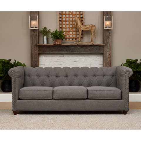 Keaton Tufted Sofa by Avenue 405