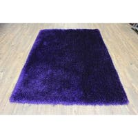 Modern Area Rug 2x3 Purple - 2' x 3'