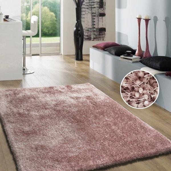 Dusty Pink Modern Area Rug 2x3 - 2' x 3'
