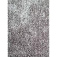 Silver Modern Area Rug 2x3 - 2' x 3'