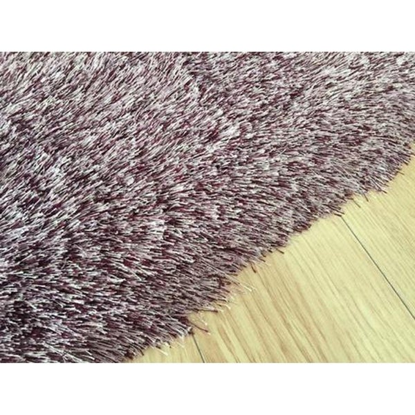 Purple Modern Area Rug 2x3 - 2' x 3'