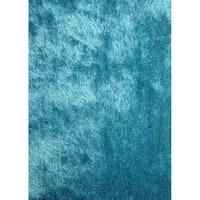 Turquoise Modern Area Rug 2x3 - 2' x 3'