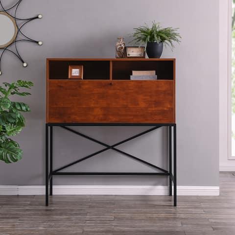 Carson Carrington Aldergrove Drop-Front Storage Desk