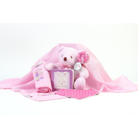 Pink Baby I Love Mommy Gift Set