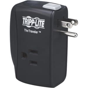 Tripp Lite Notebook Surge Protector Wallmount Direct Plug In 2 Outlet