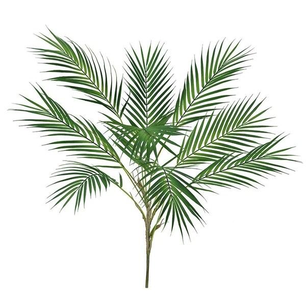 1 Pcs Artificial Tropical Palm Leaf Bush