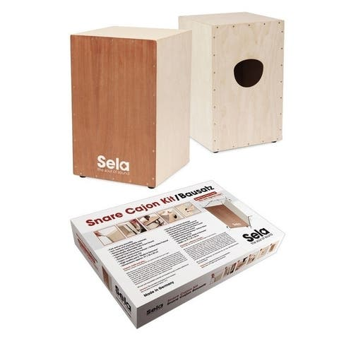Sela SE 001 Snare Cajon Kit with Cajon Method Book & CD