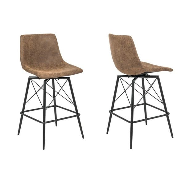 Peachy Saxis 26 Swivel 26 Bar Stool Set Of 2 Evergreenethics Interior Chair Design Evergreenethicsorg