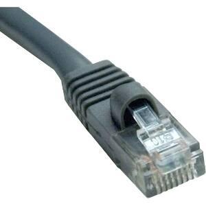 Tripp Lite 100ft Cat5e / Cat5 350MHz Molded Patch Cable RJ45 M/M Gray 100'