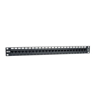 Tripp Lite 24-Port Cat5e Cat5 Rackmount Patch Panel 568B 110 Punch 1U