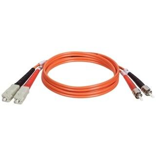 Tripp Lite 2M Duplex Multimode 62.5/125 Fiber Optic Patch Cable SC/ST