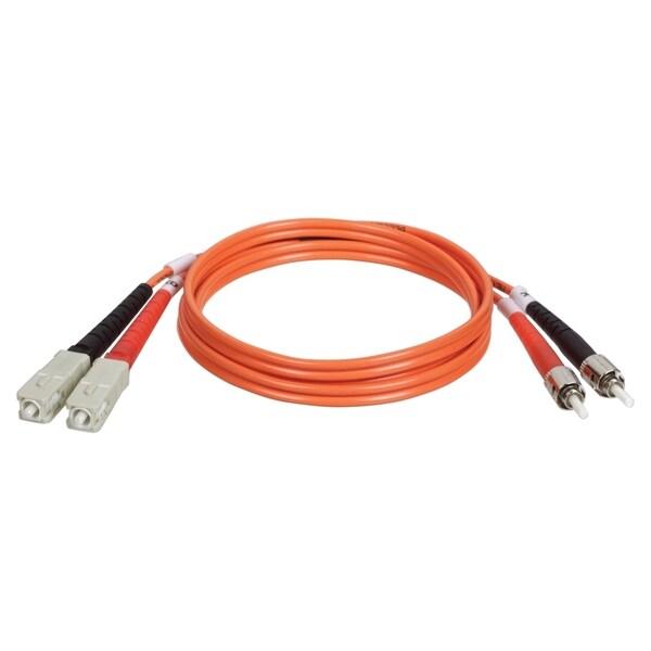 Tripp Lite 3M Duplex Multimode 62.5/125 Fiber Optic Patch Cable SC/ST