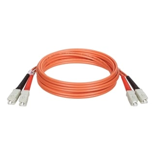 Tripp Lite 3M Duplex Multimode 62.5/125 Fiber Optic Patch Cable SC/SC