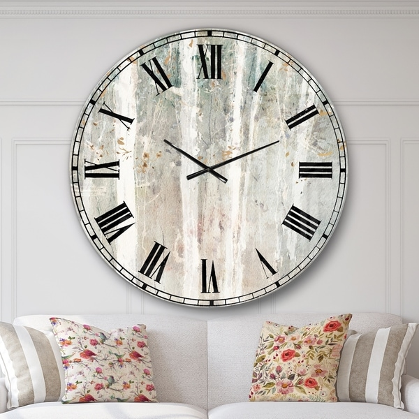 Designart 'A Woodland Walk into the Forest V' Modern Farmhouse Wall CLock. Opens flyout.