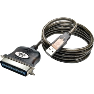 Tripp Lite 6ft USB to Parallel Printer Cable USB-A to Centronics 36-M