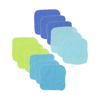 12 Piece Lollipop Baby Washcloths
